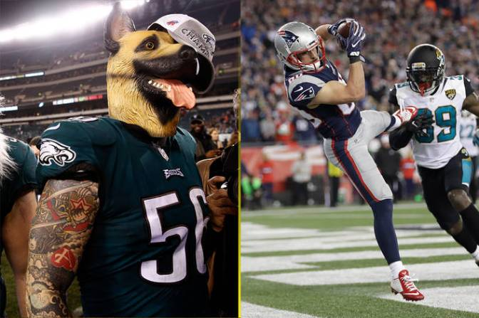 Will the Eagles be intimidated by the Patriots?